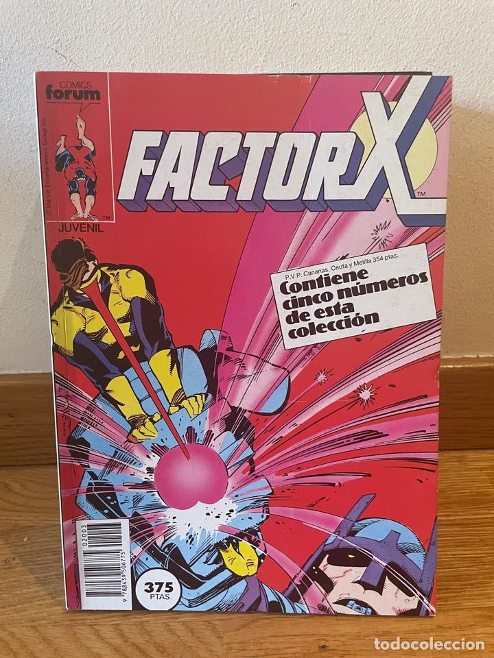 FACTOR X RETAPADO NUMERO 11 -15 (Tebeos y Comics - Forum - Factor X)