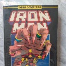 Cómics: IRON MAN VOLUMEN 2 OBRA COMPLETA (RETAPADO). Lote 288178688