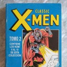 Cómics: CLASSIC X-MEN (RETAPADO) FÓRUM, TOMO 2, CONTIENE LOS NºS 6 AL 10 DE CLASSIC X-MEN VOL. 2. Lote 288182303