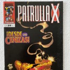Cómics: PATRULLA X #59 VOL2 FÓRUM EN MUY BUEN ESTADO. Lote 288189528