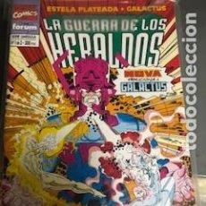 Cómics: SILVER SURFER LA GUERRA DE LOS HERALDOS 1-3. Lote 288332013