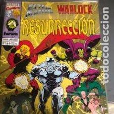 Cómics: SILVER SURFER WARLOCK RESURRECCIÓN 1-4. Lote 288332503