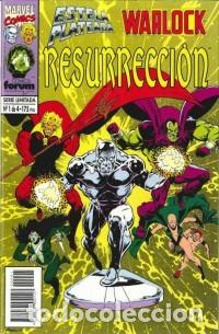 Cómics: Silver Surfer Warlock Resurrección 1-4 - Foto 2 - 288332503