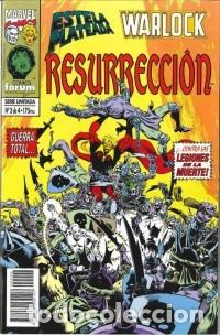 Cómics: Silver Surfer Warlock Resurrección 1-4 - Foto 3 - 288332503