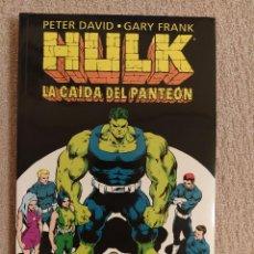 Cómics: HULK: LA CAÍDA DEL PANTEÓN. FORUM. TOMO IMPECABLE. Lote 288341313
