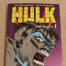 Cómics: HULK: MR. FIXIT. FORUM. TOMOS 1 Y 2. MINISERIE COMPLETA. IMPECABLES. Lote 288341493