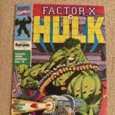 Cómics: HULK VS FACTOR X. FORUM. SERIE LIMITADA COMPLETA. NÚMEROS 1 AL 3. IMPECABLES. Lote 288342168