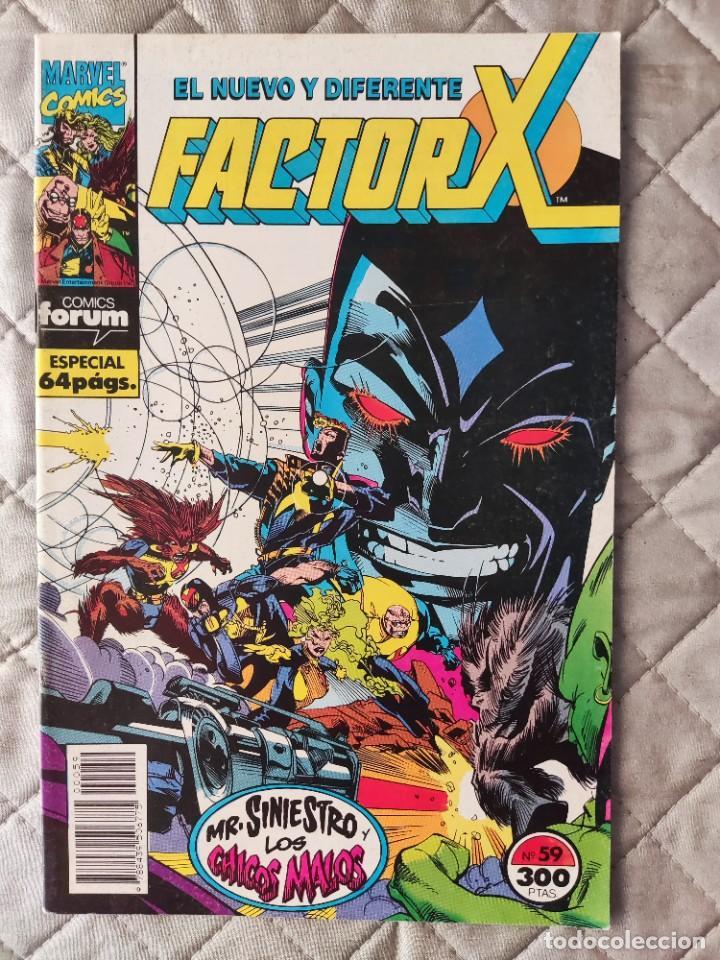 FACTOR X VOL.1 Nº 59 FORUM (Tebeos y Comics - Forum - Factor X)