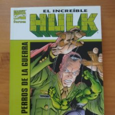 Cómics: EL INCREIBLE HULK - LOS PERROS DE LA GUERRA - MARVEL - FORUM (HH). Lote 288361403