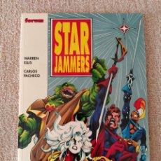 Cómics: STAR JAMMERS. FORUM. TOMO. POR WARREN ELLIS Y CARLOS PACHECO. IMPECABLE. Lote 288370088