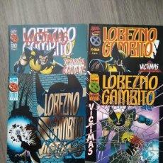 Cómics: MINISERIE COMPLETA LOBEZNO GAMBITO. JEPH LOEB Y TIM SALE. Lote 288407768