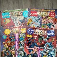 Comics: MINISERIE COMPLETA DE 4 NUMEROS DC VERSUS MARVEL LINEA AMALGAM. Lote 288408908