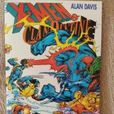 Cómics: X-MEN & CLANDESTINE DE ALAN DAVIS. TOMO ESPECIAL. FORUM. IMPECABLE. Lote 288412723
