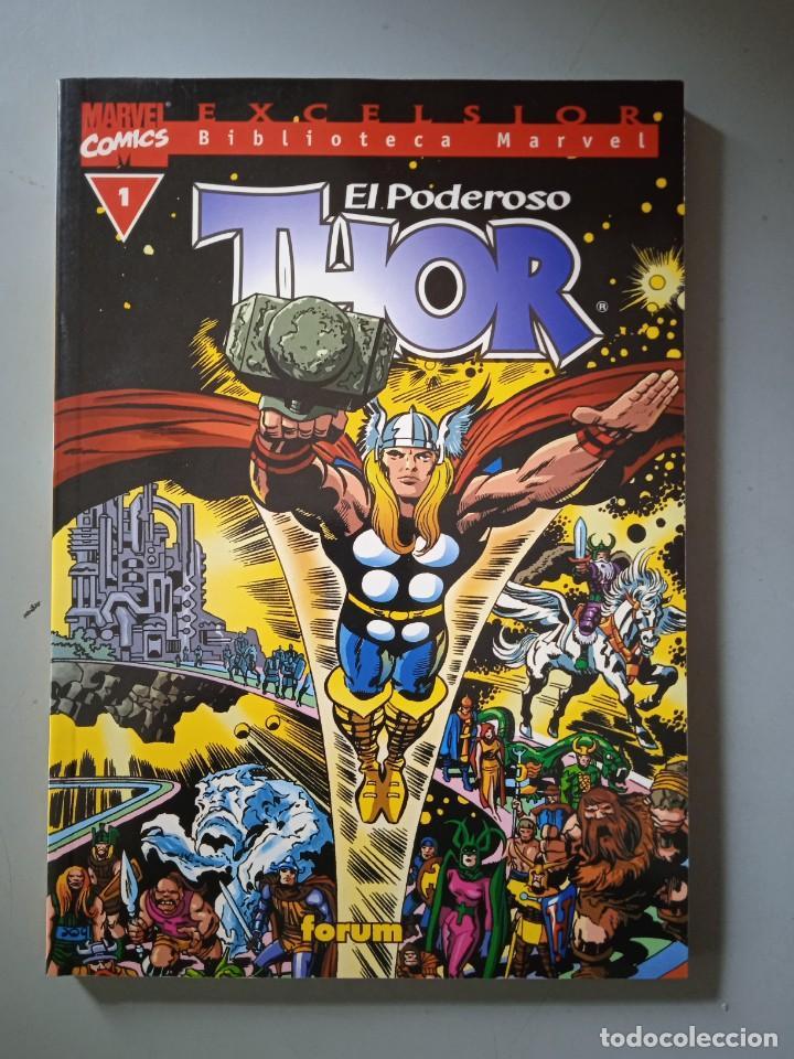 BIBLIOTECA MARVEL EXCELSIOR THOR 1-FORUM (Tebeos y Comics - Forum - Prestiges y Tomos)