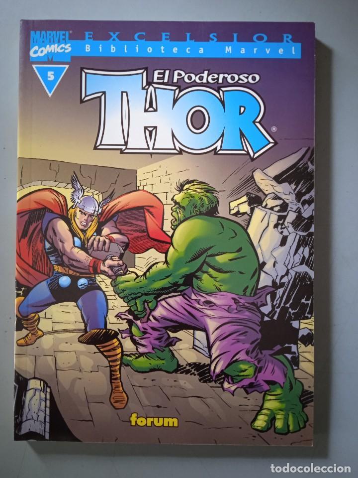 BIBLIOTECA MARVEL EXCELSIOR THOR 5-FORUM (Tebeos y Comics - Forum - Prestiges y Tomos)