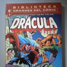 Cómics: BIBLIOTECA GRANDES DEL COMIC 3 DRÁCULA-FORUM. Lote 288429823
