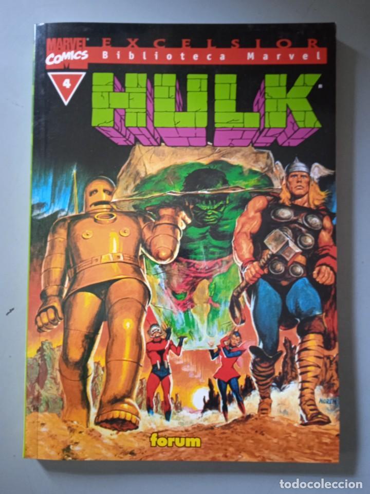 BIBLIOTECA MARVEL EXCELSIOR HULK 4-FORUM (Tebeos y Comics - Forum - Prestiges y Tomos)