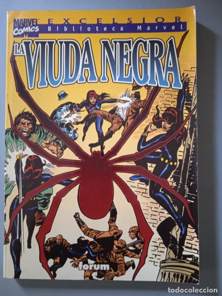 BIBLIOTECA MARVEL VIUDA NEGRA-FORUM (Tebeos y Comics - Forum - Prestiges y Tomos)
