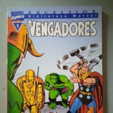 Cómics: BIBLIOTECA MARVEL EXCELSIOR LOS VENGADORES 1-FORUM. Lote 288430358
