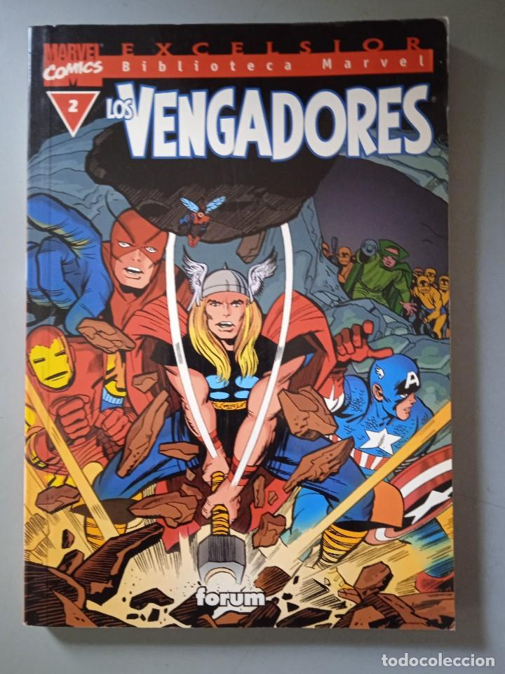 BIBLIOTECA MARVEL EXCELSIOR LOS VENGADORES 2-FORUM (Tebeos y Comics - Forum - Prestiges y Tomos)