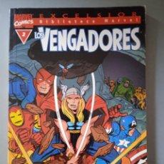 Cómics: BIBLIOTECA MARVEL EXCELSIOR LOS VENGADORES 2-FORUM. Lote 288430428