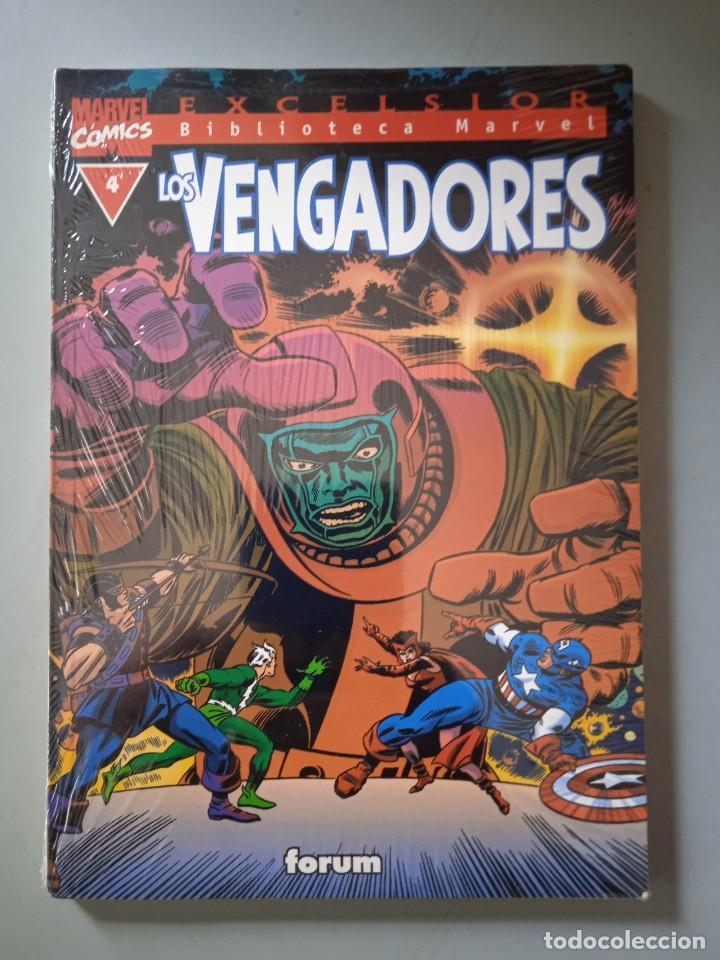 BIBLIOTECA MARVEL EXCELSIOR LOS VENGADORES 4-FORUM (Tebeos y Comics - Forum - Prestiges y Tomos)