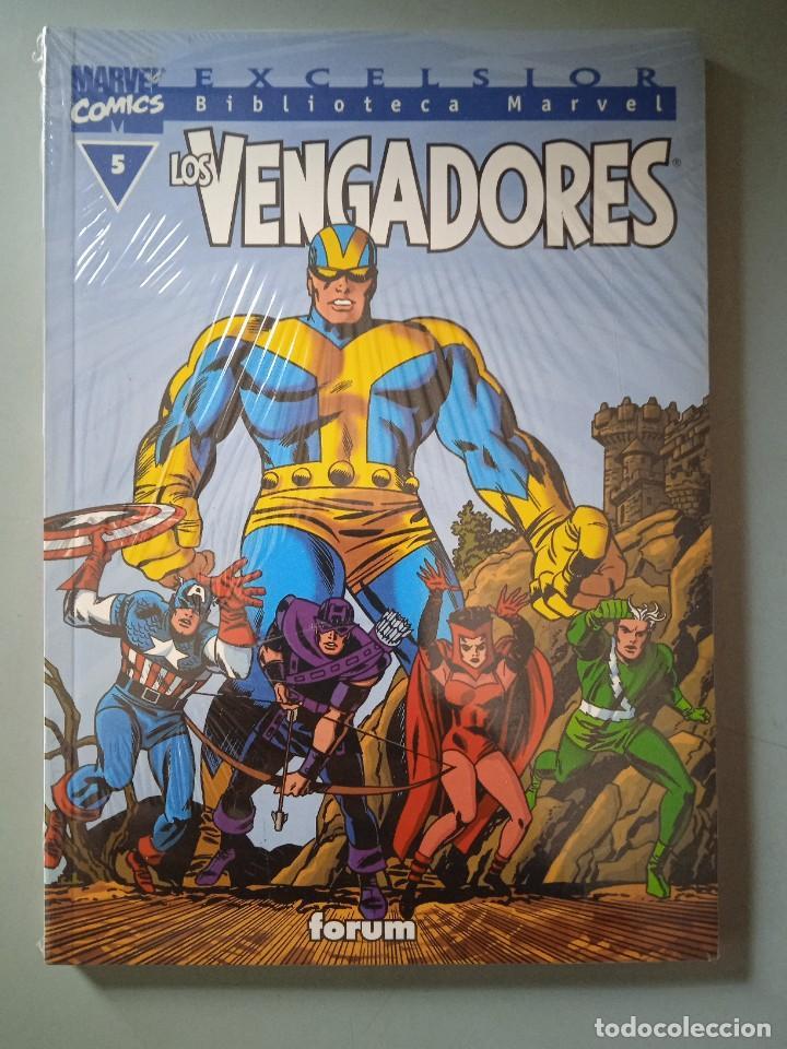 BIBLIOTECA MARVEL EXCELSIOR LOS VENGADORES 5-FORUM (Tebeos y Comics - Forum - Prestiges y Tomos)