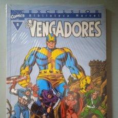 Cómics: BIBLIOTECA MARVEL EXCELSIOR LOS VENGADORES 5-FORUM. Lote 288430518