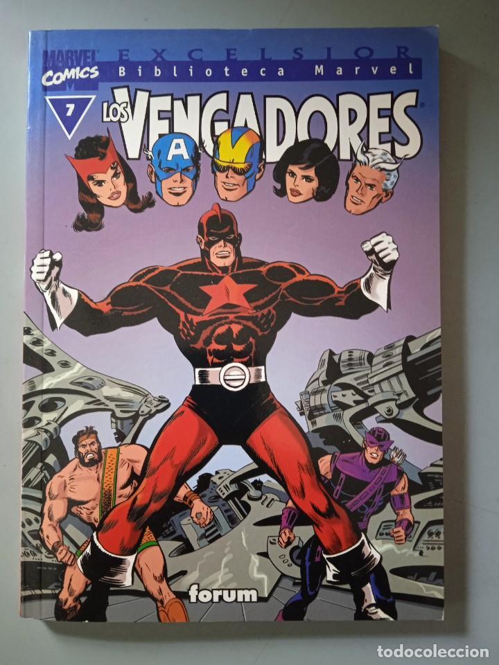 BIBLIOTECA MARVEL EXCELSIOR LOS VENGADORES 7-FORUM (Tebeos y Comics - Forum - Prestiges y Tomos)