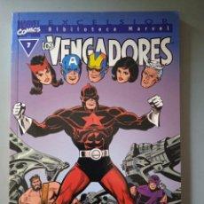 Cómics: BIBLIOTECA MARVEL EXCELSIOR LOS VENGADORES 7-FORUM. Lote 288430578