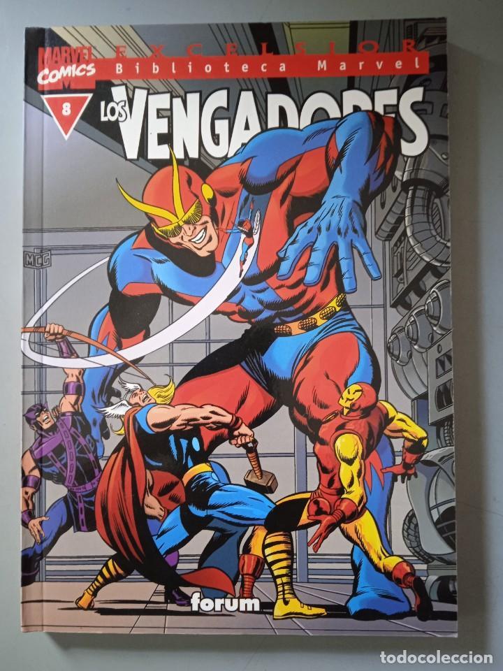 BIBLIOTECA MARVEL EXCELSIOR LOS VENGADORES 8-FORUM (Tebeos y Comics - Forum - Prestiges y Tomos)