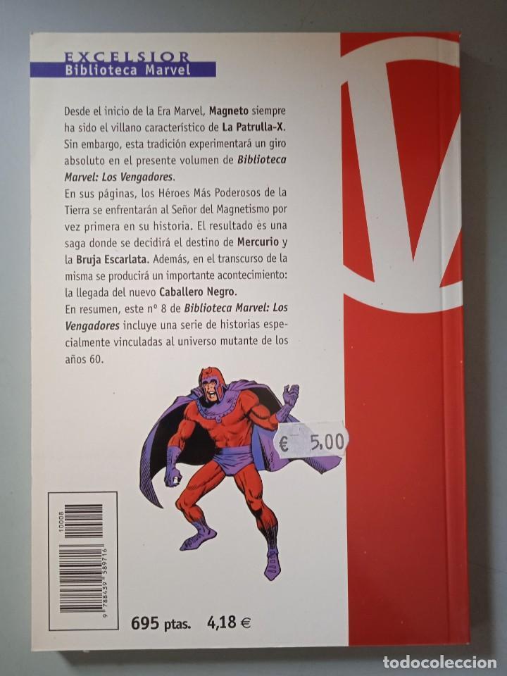 Cómics: BIBLIOTECA MARVEL EXCELSIOR LOS VENGADORES 8-FORUM - Foto 2 - 288430638