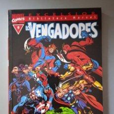 Cómics: BIBLIOTECA MARVEL EXCELSIOR LOS VENGADORES 9-FORUM. Lote 288430678