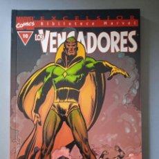Cómics: BIBLIOTECA MARVEL EXCELSIOR LOS VENGADORES 10-FORUM. Lote 288430723