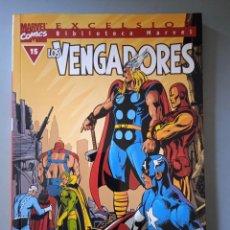 Cómics: BIBLIOTECA MARVEL EXCELSIOR LOS VENGADORES 15-FORUM. Lote 288430878