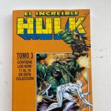 Cómics: EL INCREÍBLE HULK. Lote 288443533