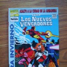 Cómics: LOS NUEVOS VENGADORES EXTRA INVIERNO 1993 ASALTO A LA CIUDAD DE LA ARMADURA 2ª PARTE (FORUM). Lote 288454723