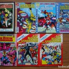 Cómics: LOS NUEVOS VENGADORES VOL.1 Nº 1 AL 84 + 6 EXTRAS + TOMO ÚLTIMO ASALTO (COLECCIÓN COMPLETA) FORUM. Lote 288456643