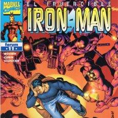 Cómics: IRON MAN VOL. 4 Nº 11 - FORUM - MUY BUEN ESTADO - OFM15. Lote 288473293