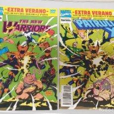 Cómics: LOS REYES DEL DOLOR 2 Y 3ª PARTE - PATRULLA-X - THE NEW WARRIORS -EXTRA VERANO 1992 / MARVEL - FORUM. Lote 196599071