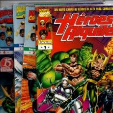 Cómics: HEROES DE ALQUILER. NUMEROS I,2,3,4: OSTRANDER, FERRY, MENDOZA. FORUM, MARVEL COMICS. Lote 288549128