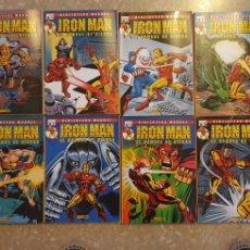 Cómics: LOTE 8 EJEMPLARES IRON MAN. FORUM. Lote 288556018