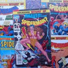 Cómics: WHAT IF? SPIDERMAN. 5 NÚMEROS SUELTOS FORUM. Lote 288566188
