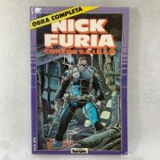 Cómics: NICK FURIA CONTRA S.H.I.E.L.D. OBRA COMPLETA DE 9 NUMEROS - FORUM. Lote 288624843