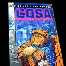 Cómics: DE KIOSCO ICONOS LOS 4 FANTASTICOS LA COSA FORUM MARVEL COMICS. Lote 288629063