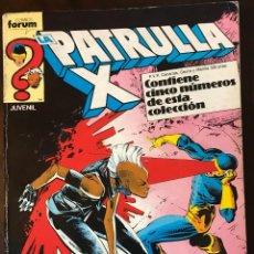 Cómics: LA PATRULLA X RETAPADO 52-56 COMICS FORUM MARVEL. Lote 288719893