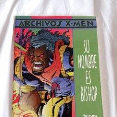Cómics: X-MEN. SU NOMBRE ES BISHOP. 1998. Lote 288728713