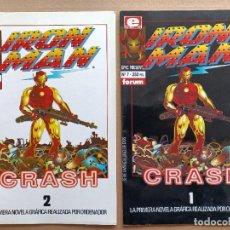 Cómics: IRON MAN CRASH FORUM. Lote 288996658