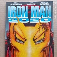 Cómics: IRON MAN 2020 FORUM. Lote 289000298
