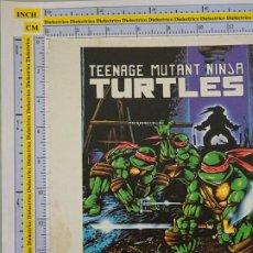 Cómics: TARJETÓN PUBLICITARIO DE COMICS TEBEOS. TEENAGE MUTANT NINJA TURTLES. COMICS FORUM. Lote 289000758